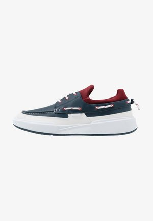 GENNAKER - Casual lace-ups - navy/dark red