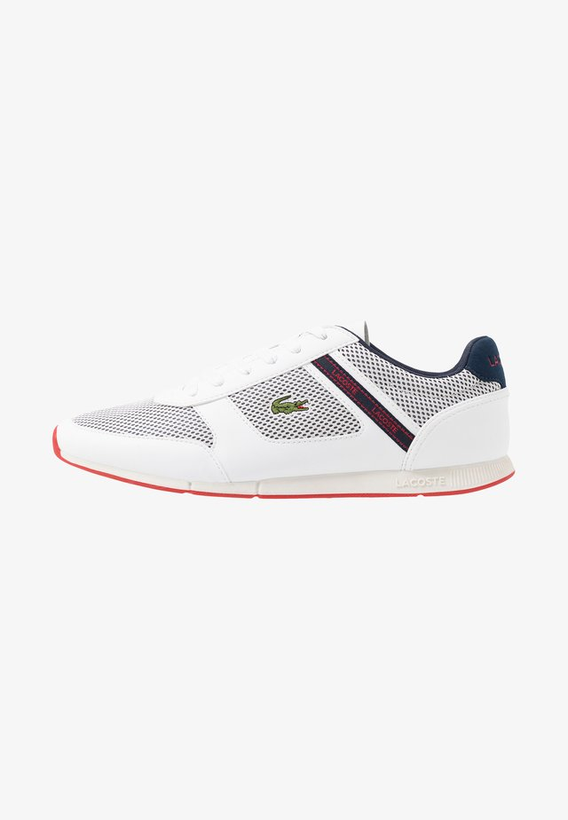 MENERVA SPORT - Sneaker low - white/navy