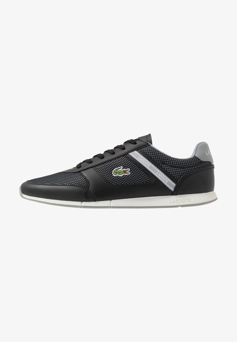Lacoste - MENERVA SPORT - Zapatillas - black/grey