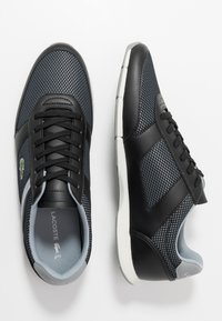 Lacoste - MENERVA SPORT - Zapatillas - black/grey - 1