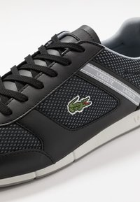 Lacoste - MENERVA SPORT - Zapatillas - black/grey - 5