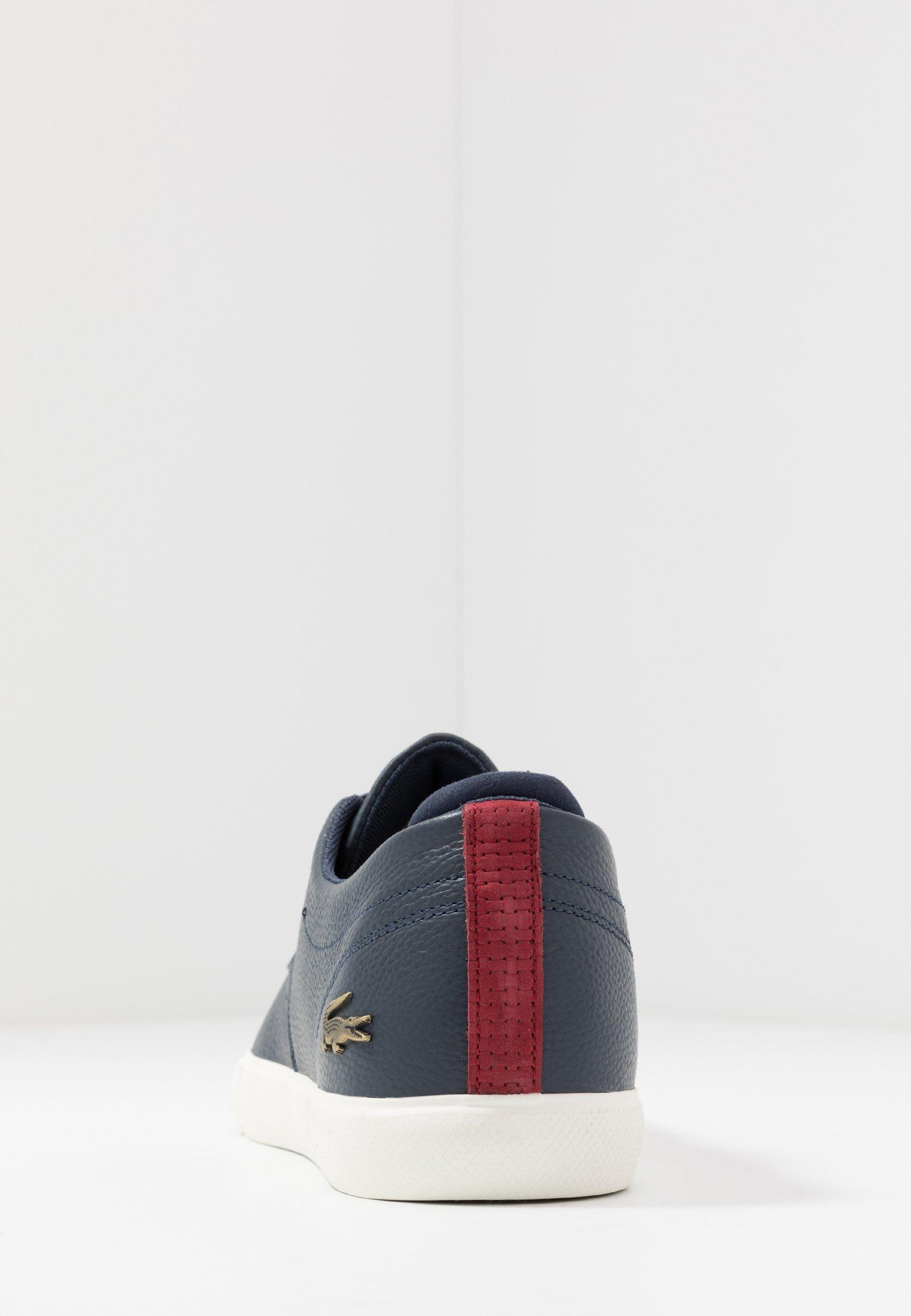Lacoste ESPARRE - Sneakers basse - navy/dark red