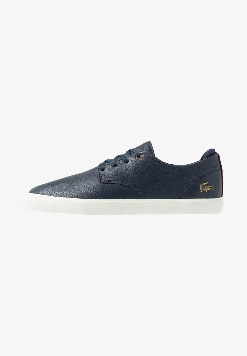 Lacoste - ESPARRE - Trainers - navy/dark red