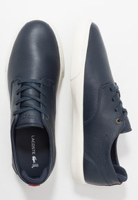Lacoste - ESPARRE - Trainers - navy/dark red - 1
