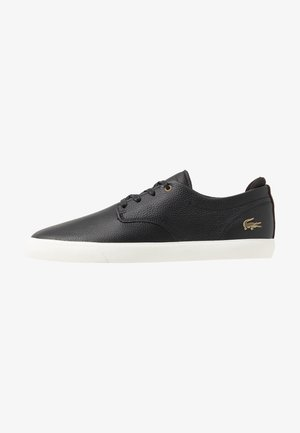 ESPARRE - Sneakersy niskie - black/dark brown
