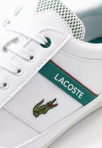 Lacoste - CHAYMON - Sneakers - white/green - 5