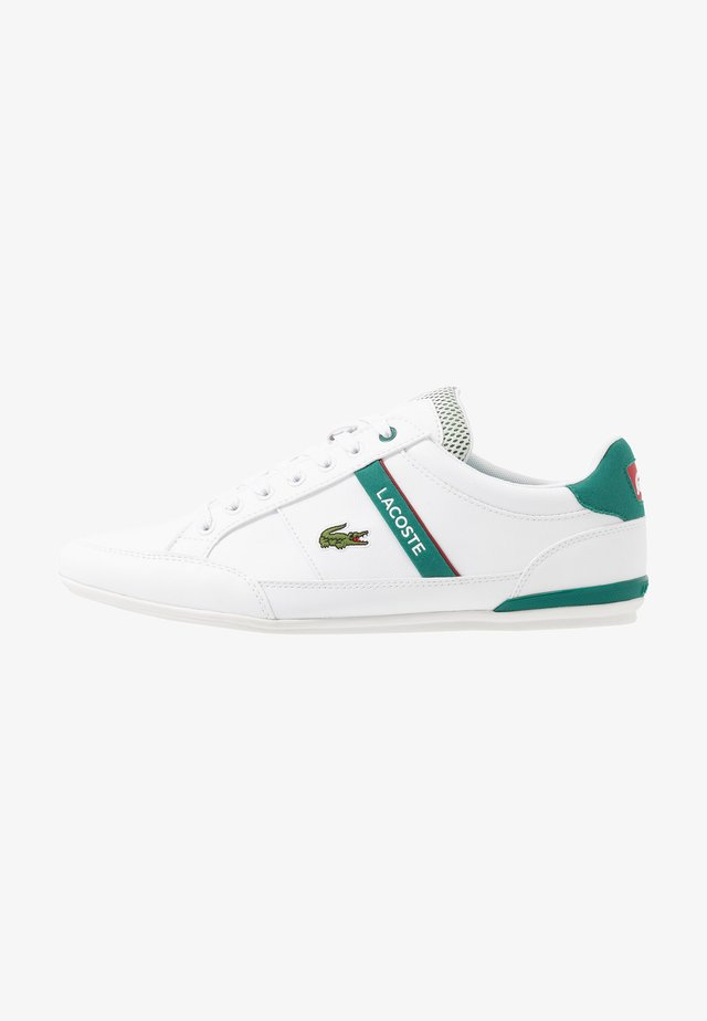 CHAYMON - Sneakers laag - white/green
