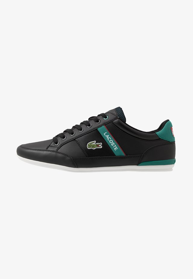 CHAYMON - Sneaker low - black/green