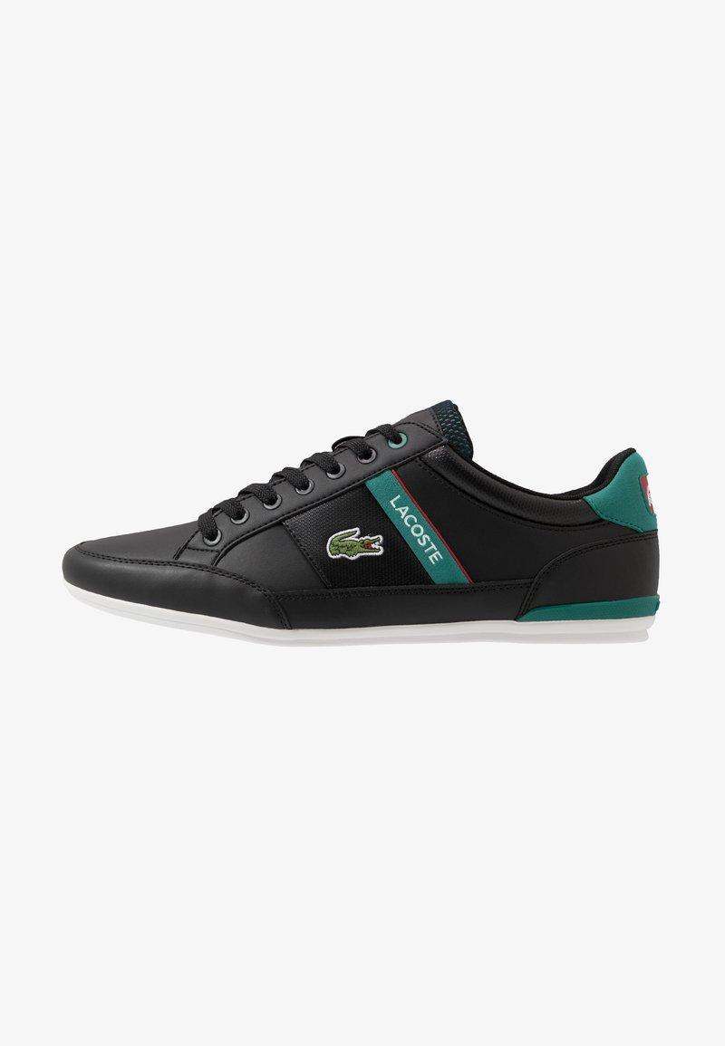 Lacoste - CHAYMON - Sneaker low - black/green