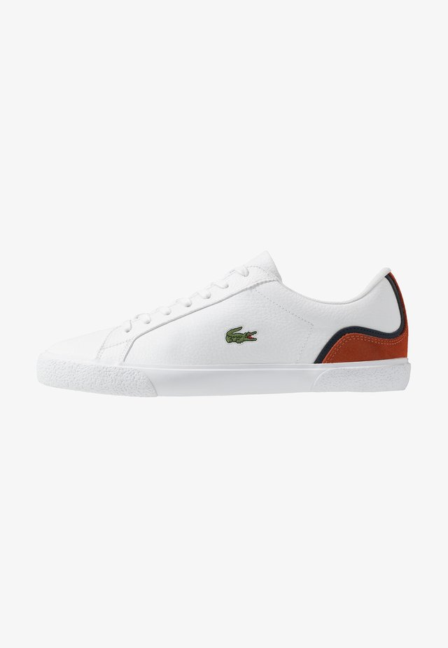 LEROND - Sneaker low - white/orange