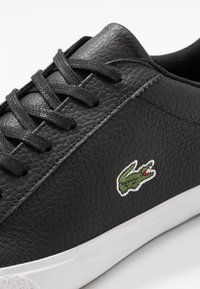 Lacoste - LEROND - Sneakers - black/white - 5