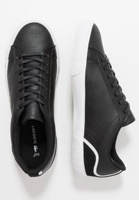 Lacoste - LEROND - Sneakers - black/white - 1