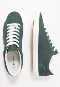 Lacoste - LEROND - Sneakers basse - dark green/offwhite - 1
