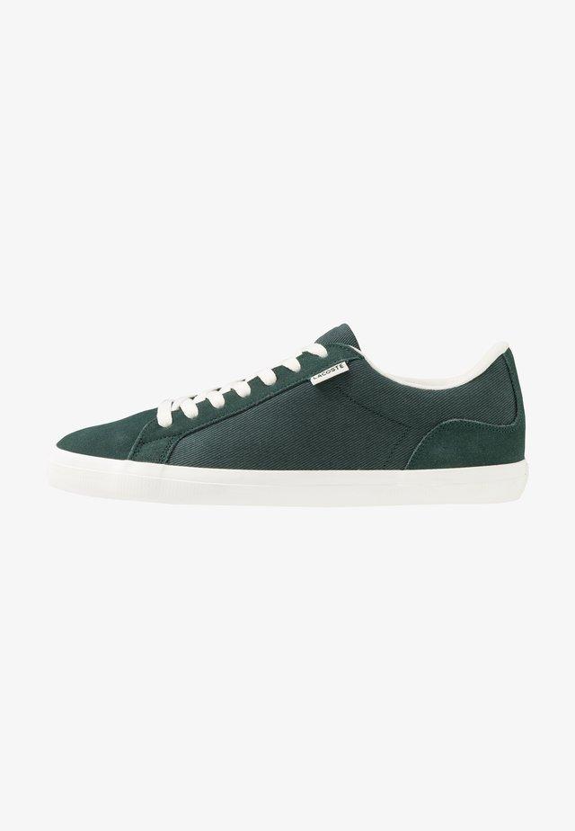 LEROND - Sneakers laag - dark green/offwhite