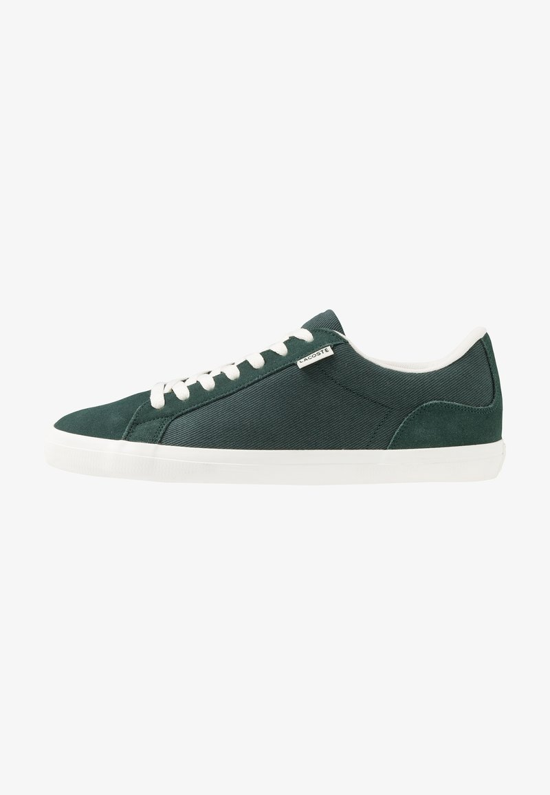 Lacoste - LEROND - Sneakers basse - dark green/offwhite