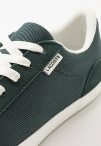 Lacoste - LEROND - Sneakers basse - dark green/offwhite - 6
