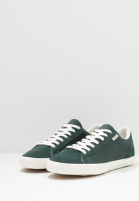 Lacoste - LEROND - Sneakers basse - dark green/offwhite - 2