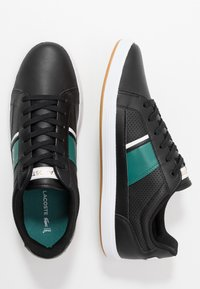 Lacoste - EUROPA - Trainers - black/green - 1