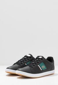 Lacoste - EUROPA - Sneakersy niskie - black/green - 2