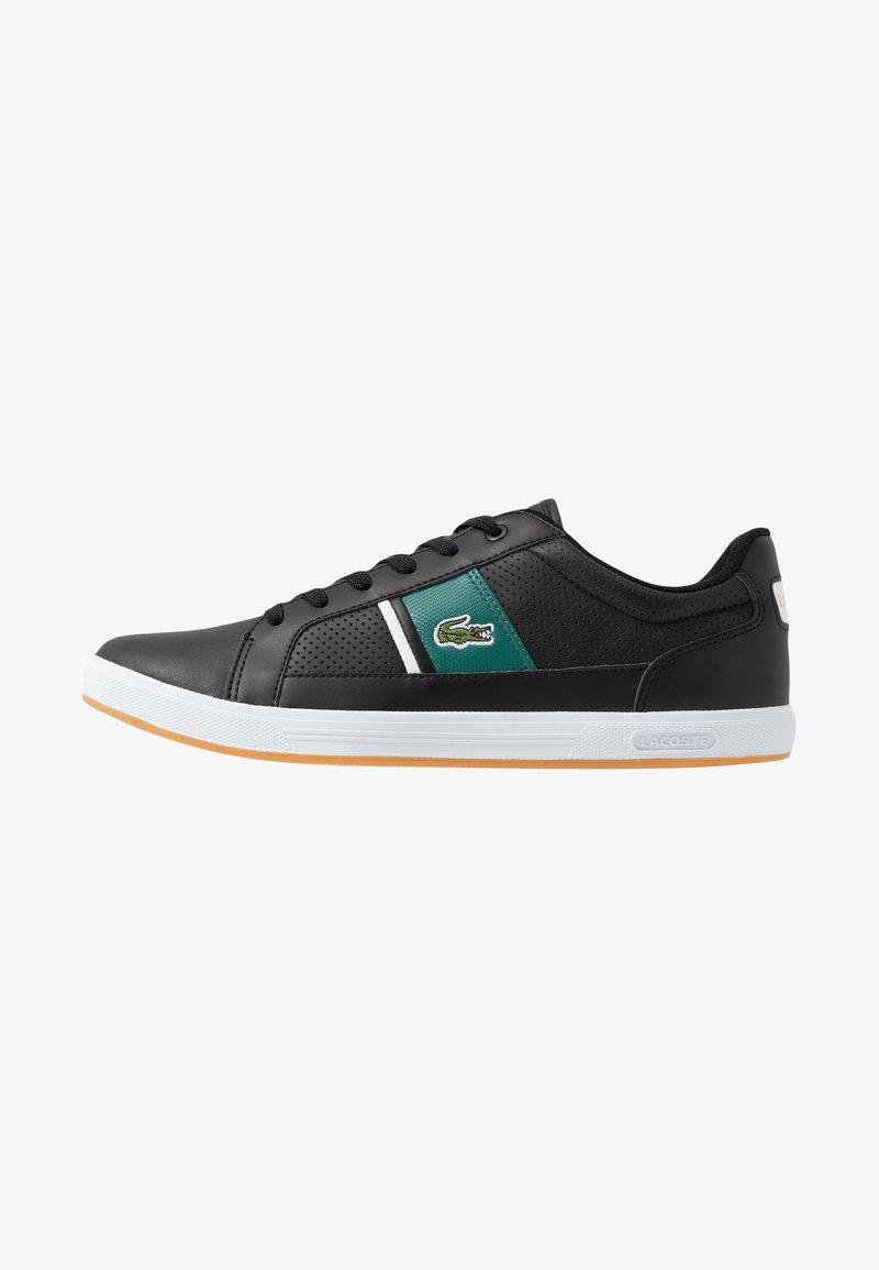 Lacoste - EUROPA - Sneakersy niskie - black/green