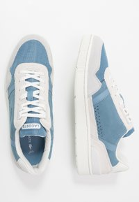 Lacoste - T-CLIP - Sneakers - offwhite/blue - 1