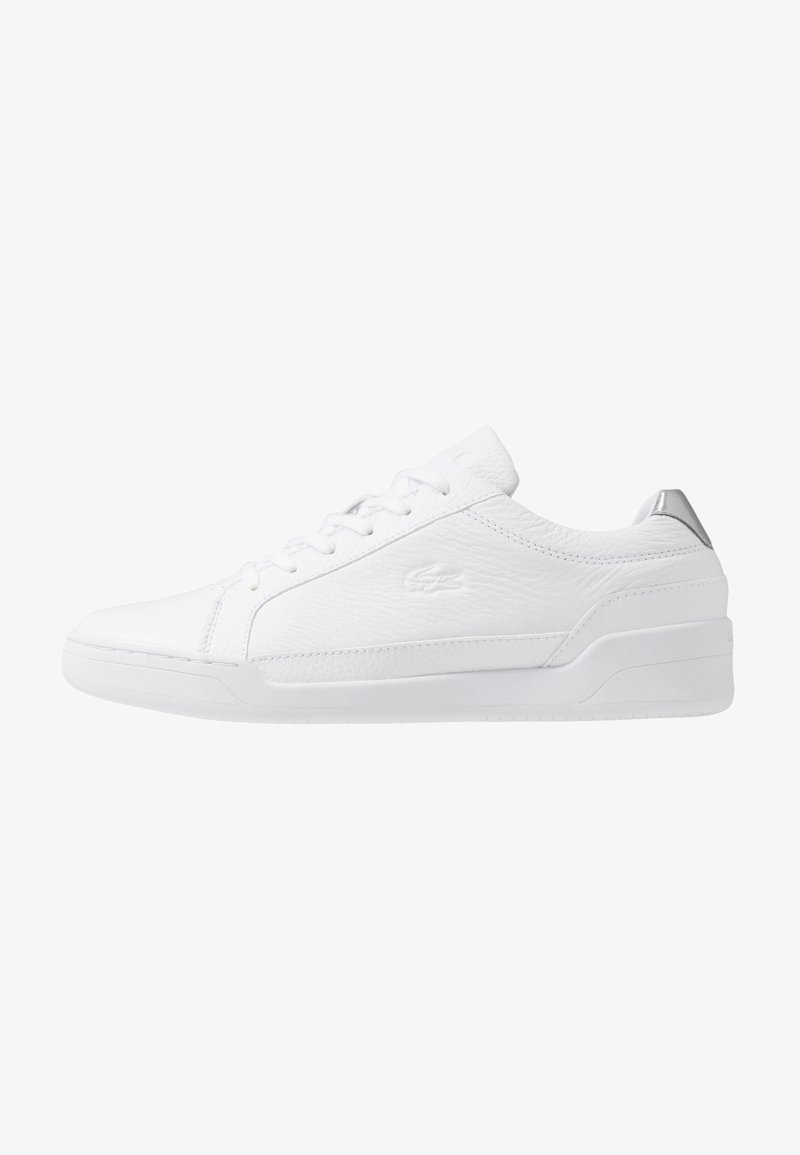 Lacoste - CHALLENGE - Trainers - white/silver