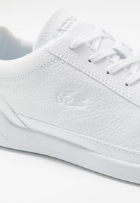 Lacoste - CHALLENGE - Trainers - white/silver - 5