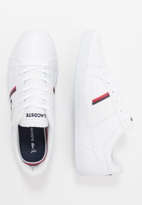 Lacoste - EUROPA - Sneaker low - white/navy/red - 1