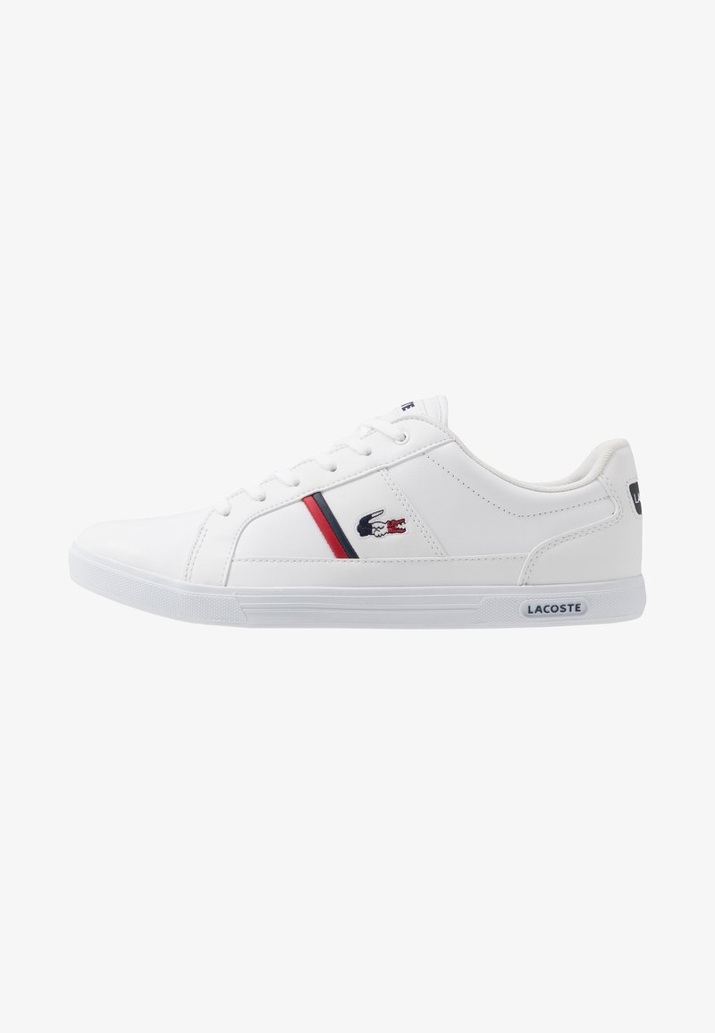 Lacoste - EUROPA - Trainers - white/navy/red