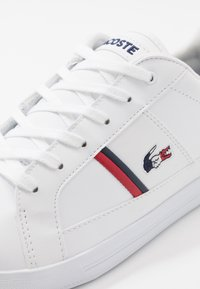 Lacoste - EUROPA - Sneaker low - white/navy/red - 5