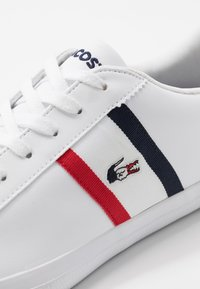 Lacoste - LEROND - Trainers - white/navy/red - 5