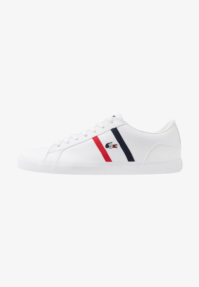 Lacoste - LEROND - Trainers - white/navy/red