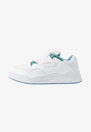 COURT SLAM - Baskets basses - white/green