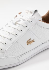 Lacoste - CHAYMON - Sneakers - white/gold - 5