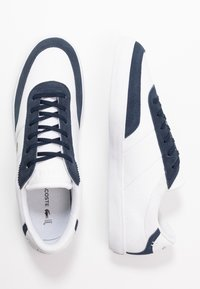 Lacoste - COURT MASTER - Trainers - white/navy - 1