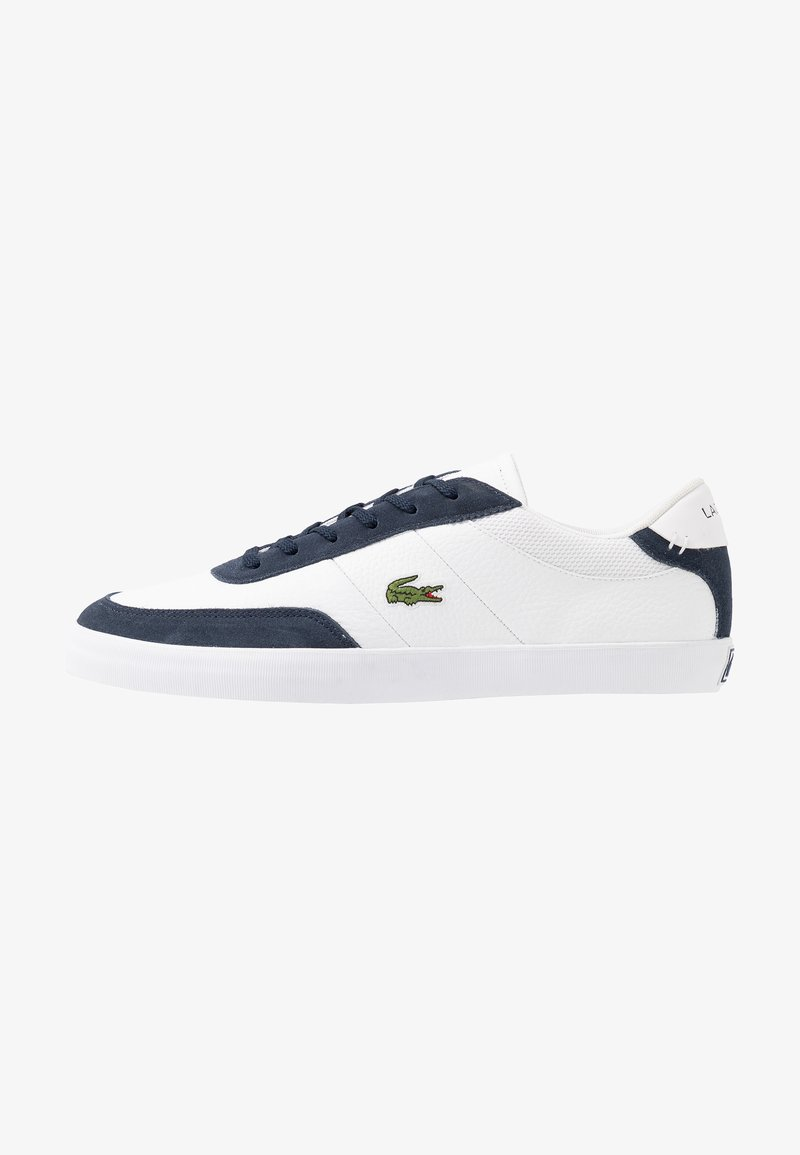 Lacoste - COURT MASTER - Trainers - white/navy