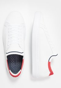 Lacoste - LA PIQUEE - Sneakers laag - white/red/navy - 1