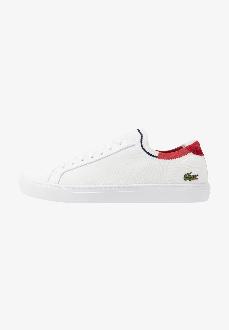 Lacoste - LA PIQUEE - Sneakers laag - white/red/navy