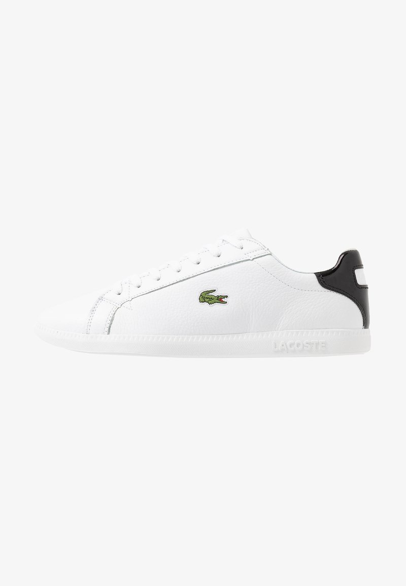 Lacoste - GRADUATE - Baskets basses - white/black