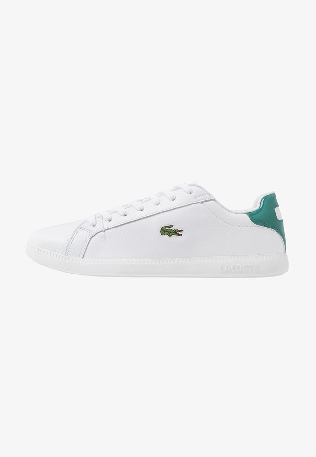 GRADUATE - Matalavartiset tennarit - white/green