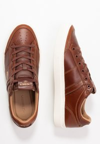 Lacoste - COURTLINE - Trainers - tan/offwhite - 1