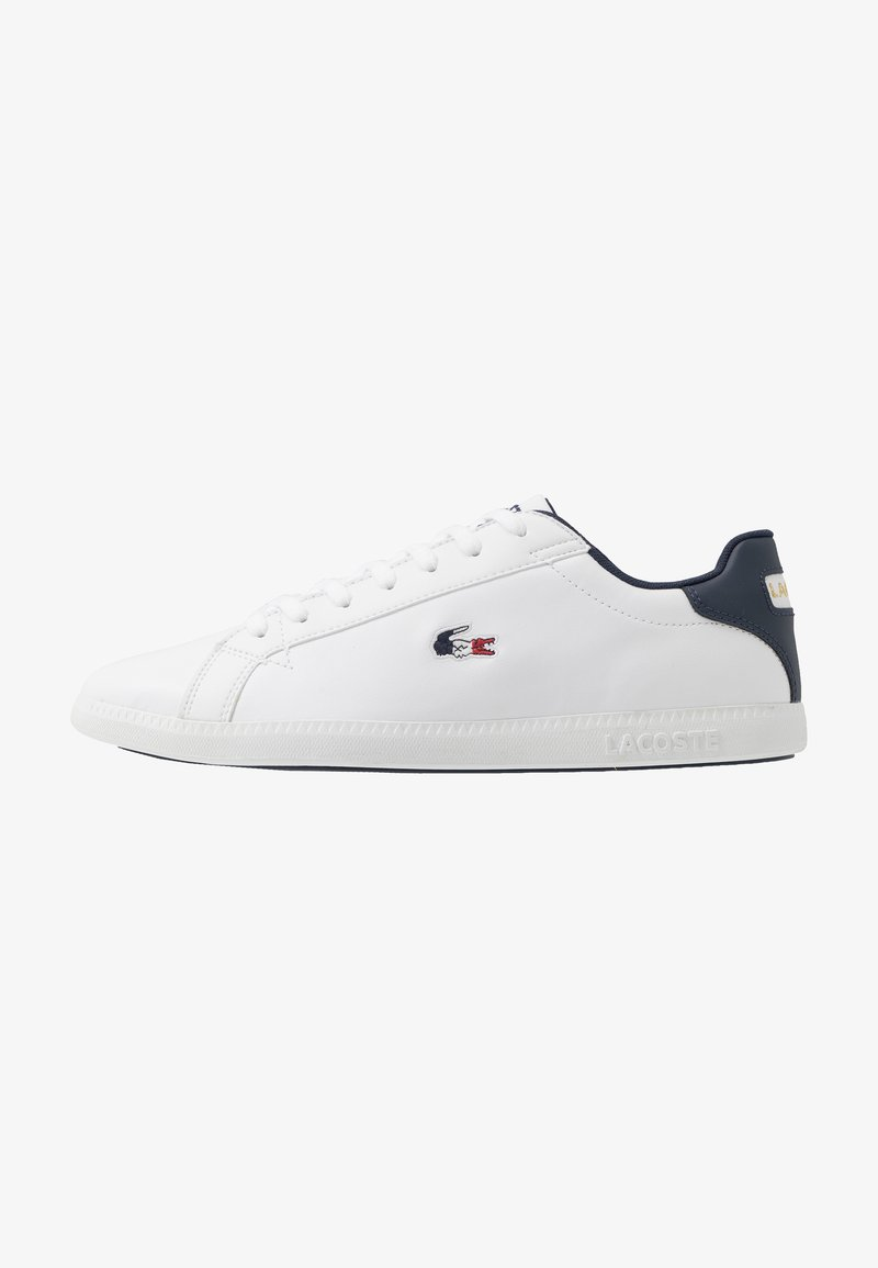 Lacoste - GRADUATE - Baskets basses - white/navy/red