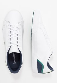 Lacoste - LEROND - Sneakers laag - white/navy - 1
