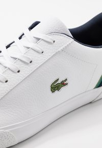 Lacoste - LEROND - Sneakers laag - white/navy - 5