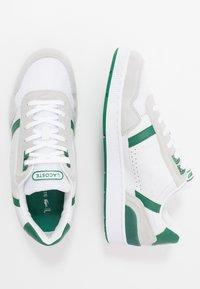 Lacoste - T-CLIP - Tenisky - white/green - 1