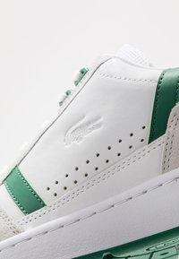 Lacoste - T-CLIP - Tenisky - white/green - 5