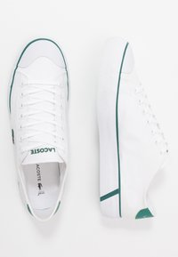 Lacoste - GRIPSHOT - Sneakers - white/green - 1