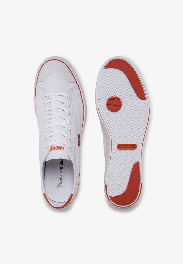 GRIPSHOT - Sneaker low - wht/org