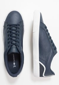 Lacoste - LEROND - Sneakers laag - navy/white - 1