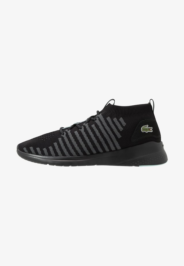 FIT FLEX - Sneakers laag - black/light green